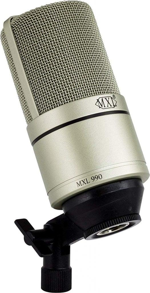MXL 990 Mounted