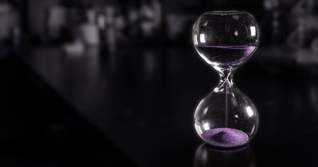 Hourglass For Time