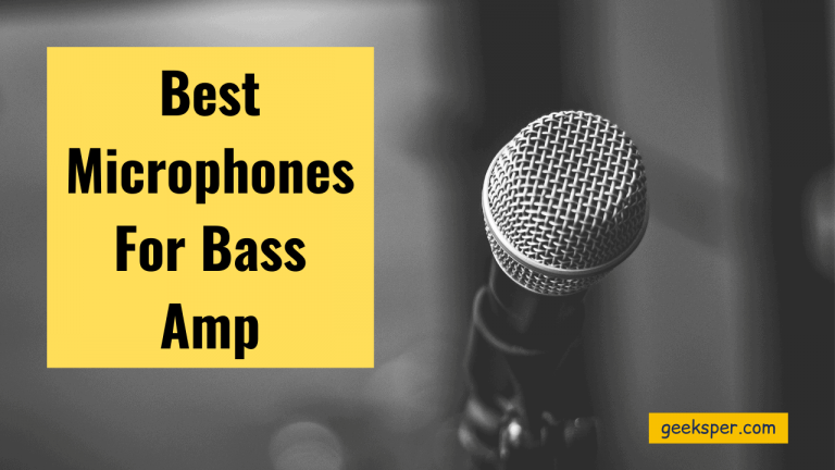 Best Microphones For Bass Amp