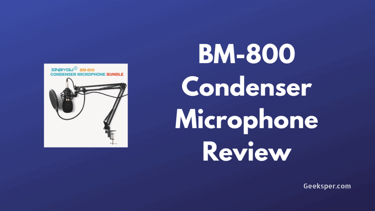 BM 800 Microphone Review