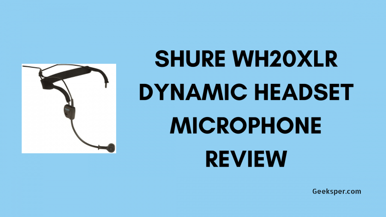 Shure WH20XLR Review