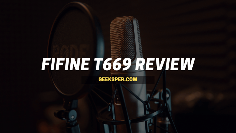 Fifine T669 Review