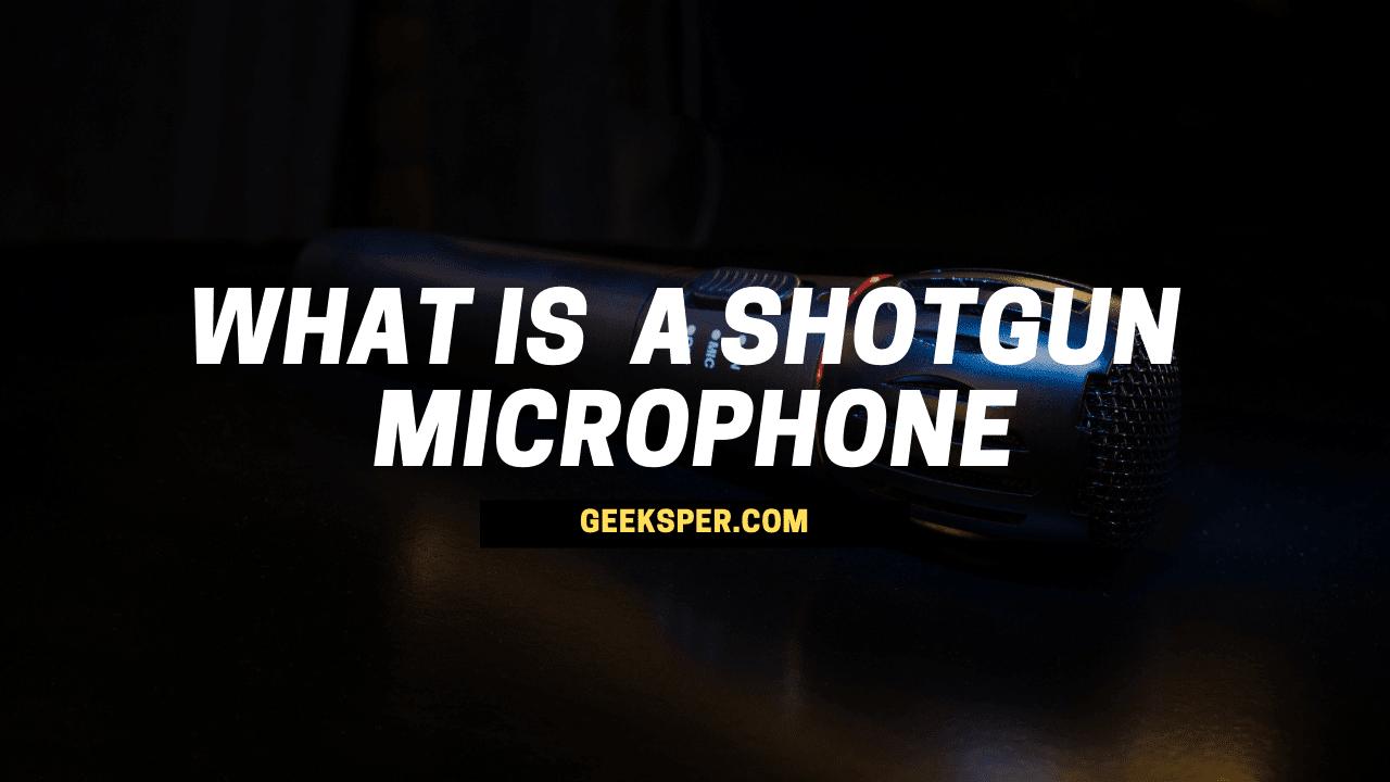 What Is a Shotgun Microphone