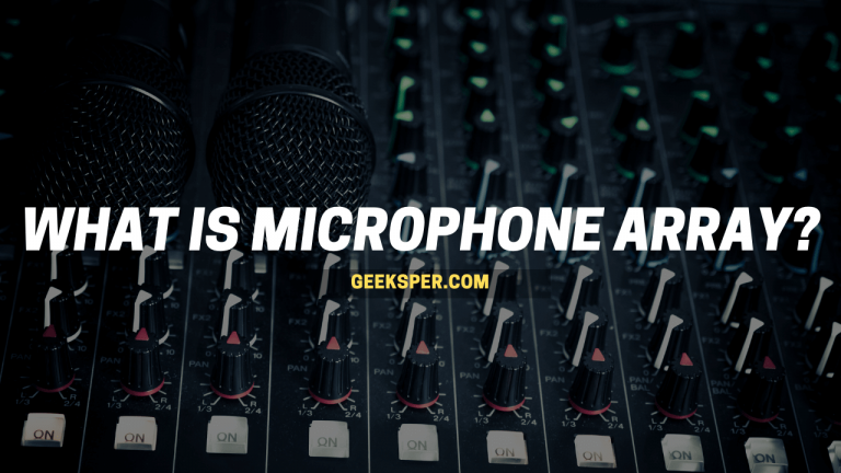 What is microphone array